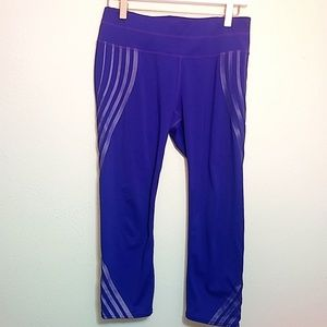 Athleta | Purple Gel Sonar Capri Pant - M